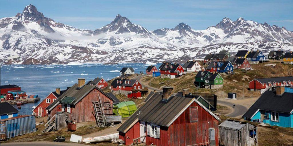 Трамп Гренландия