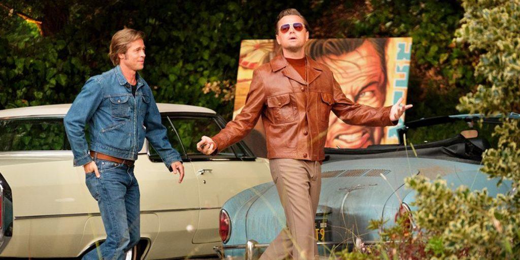 """Рик Далтон и Клифф Бут, """"Однажды в Голливуде"""""""