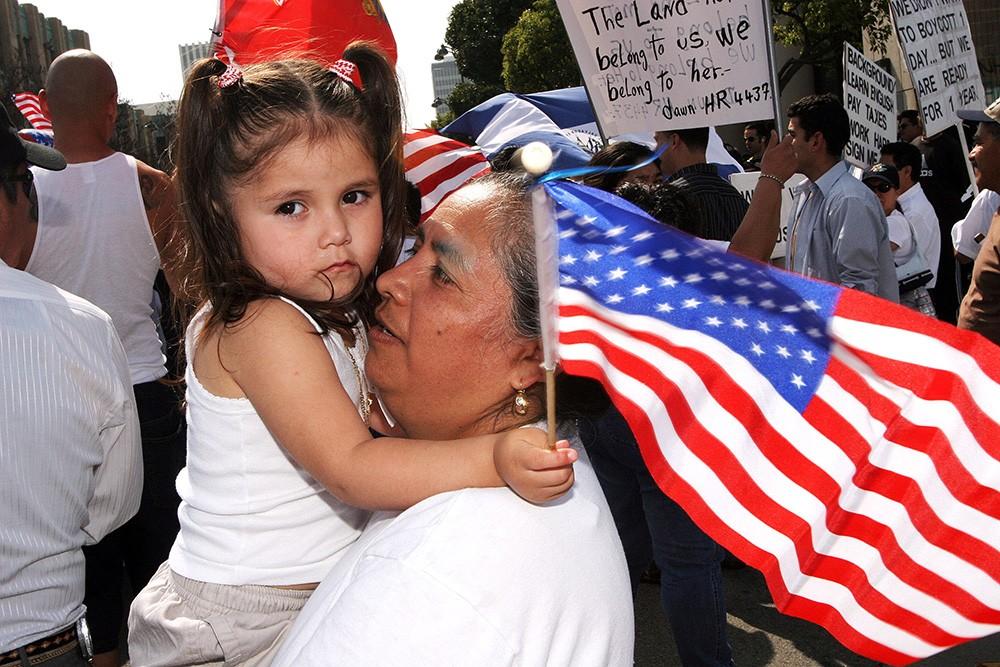мигранты с детьми США