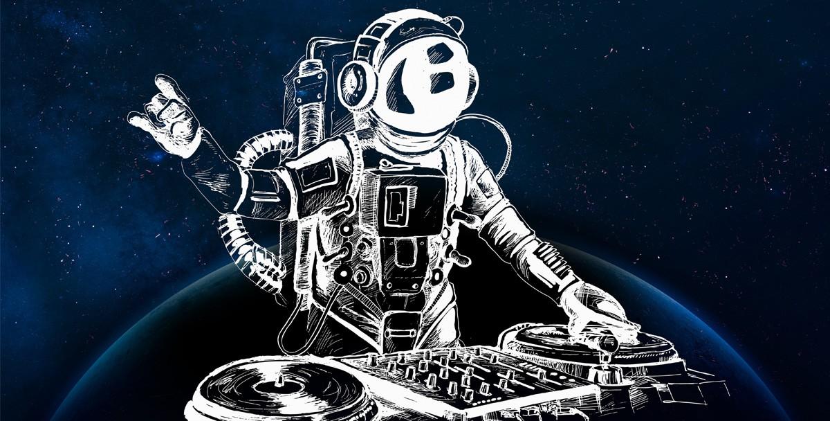 Для вечеринки на Ибице сыграли из космоса