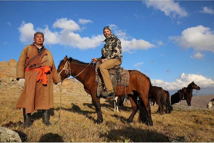Трамп-младший в Монголии