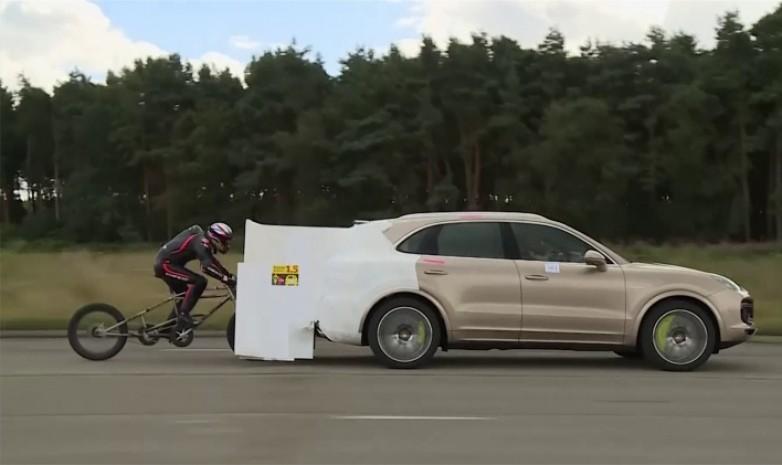 Установлен новый мужской рекорд скорости на велосипеде