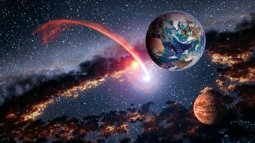 К Земле несется астероид размером с египетскую пирамиду