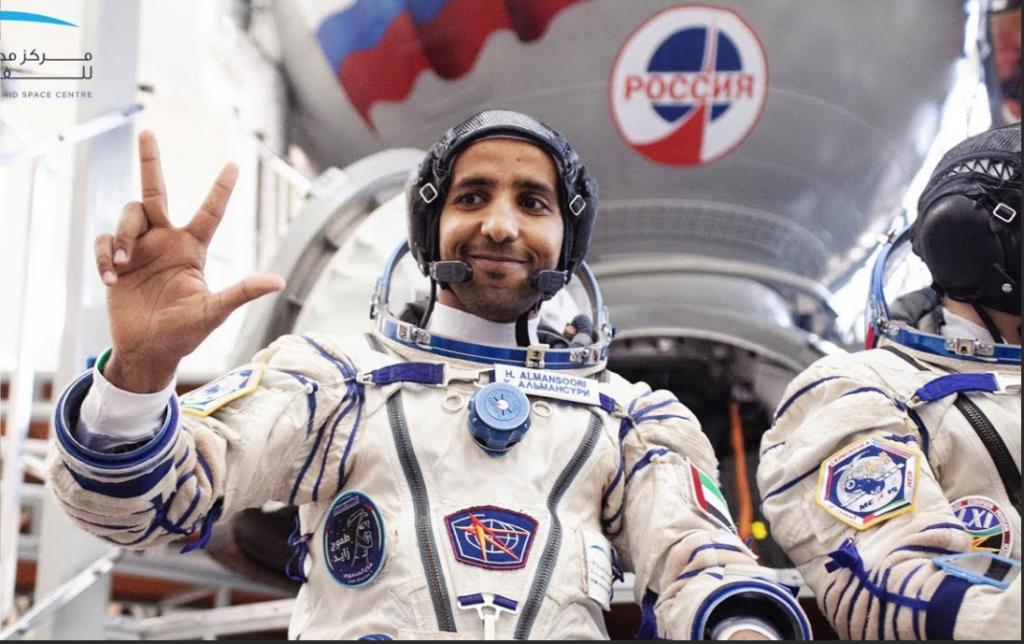 Хаззаа аль-Мансур первый космонавт ОАЭ