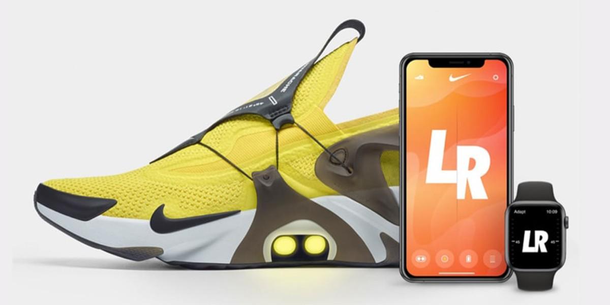 Голосовой помощник Siri может зашнуровать новые кроссовки Nike