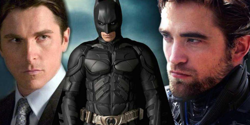 """Бэтмен"": Кристиан Бэйл дал наставление Роберту Паттинсону"