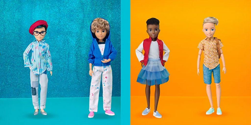 Производители Барби запустили линейку гендерно-нейтральных кукол