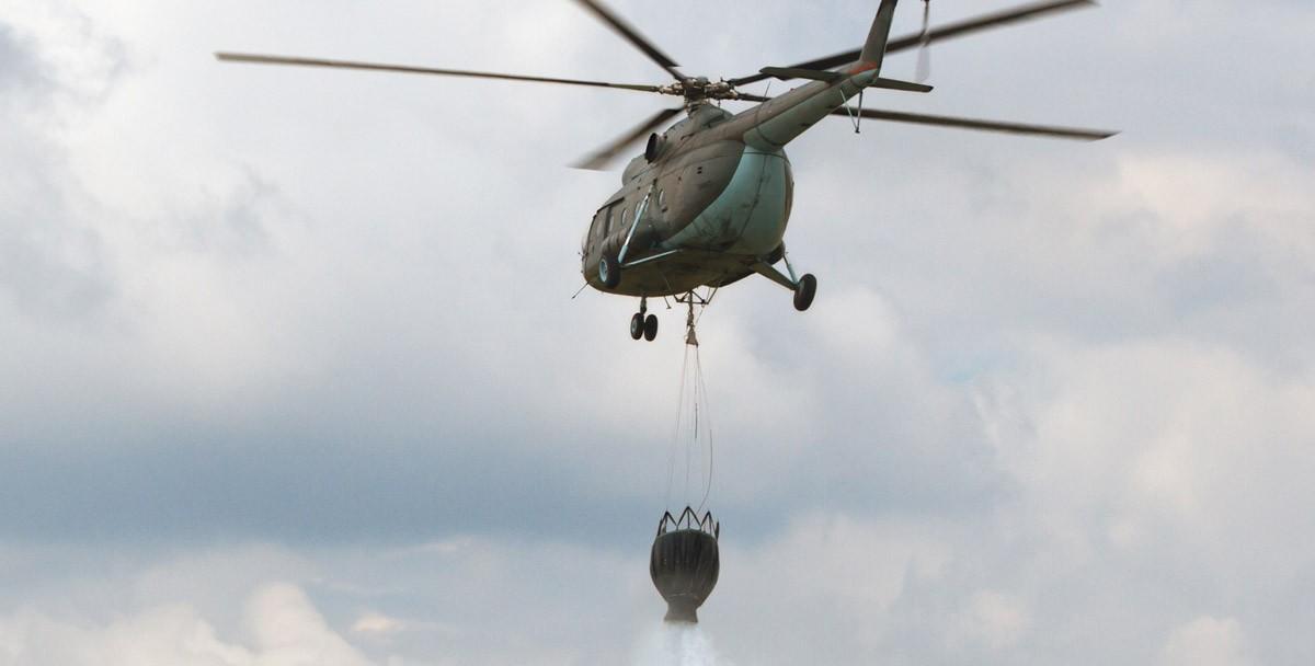 Пожар на алматинской барахолке потушат вертолеты