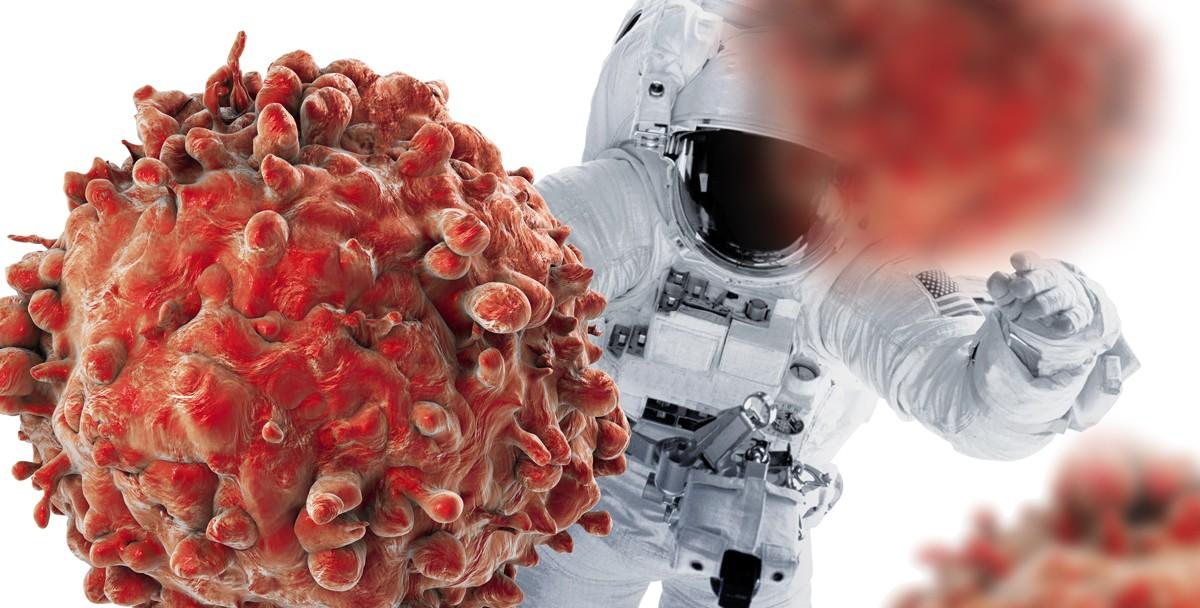 Раковые клетки может уничтожить невесомость