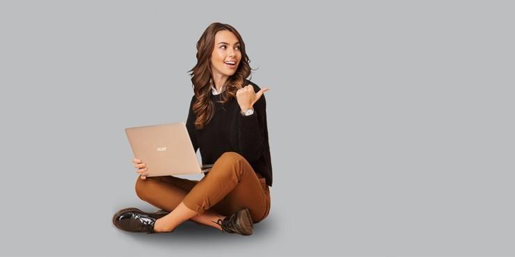 Как выиграть ноутбук Swift 1 от Acer