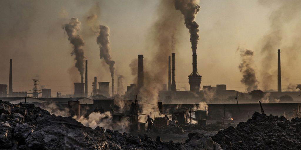 углеродные выбросы