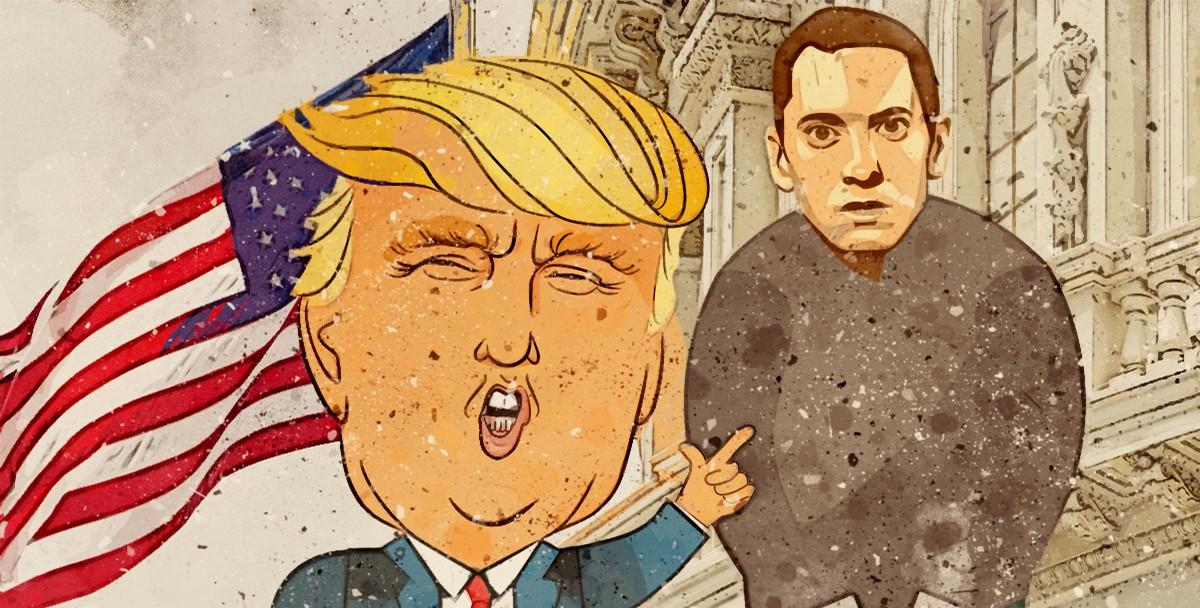Сотрудники Секретной службы США допросили Эминема из-за его песен про Трампа