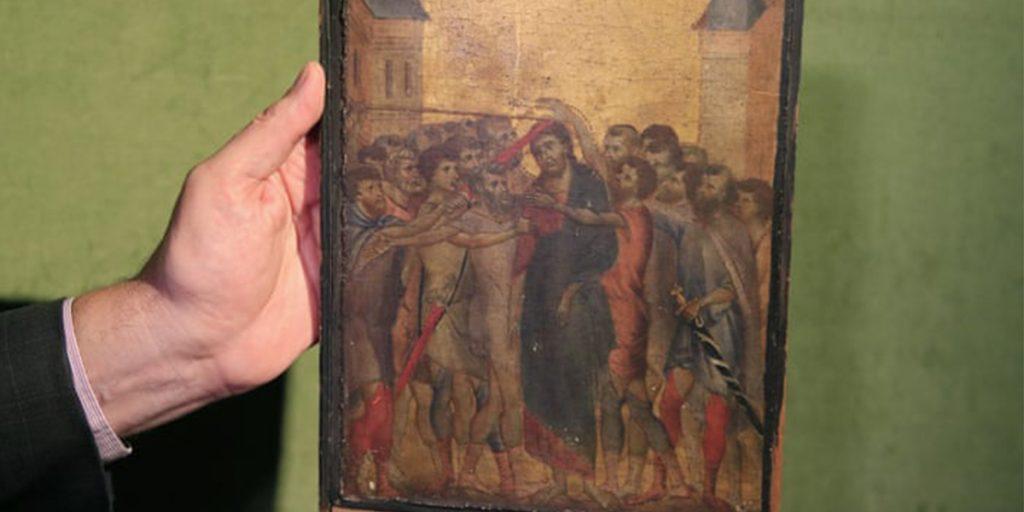 Осмеяние Христа картина
