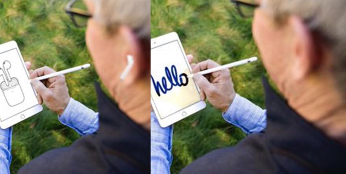 Генеральный директор Apple не использует AirPods, а наушники ему подрисовывают на фото