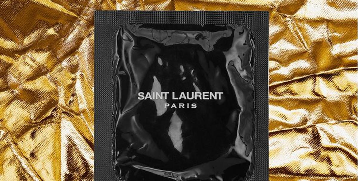 Saint Laurent выпустил коллекцию презервативов
