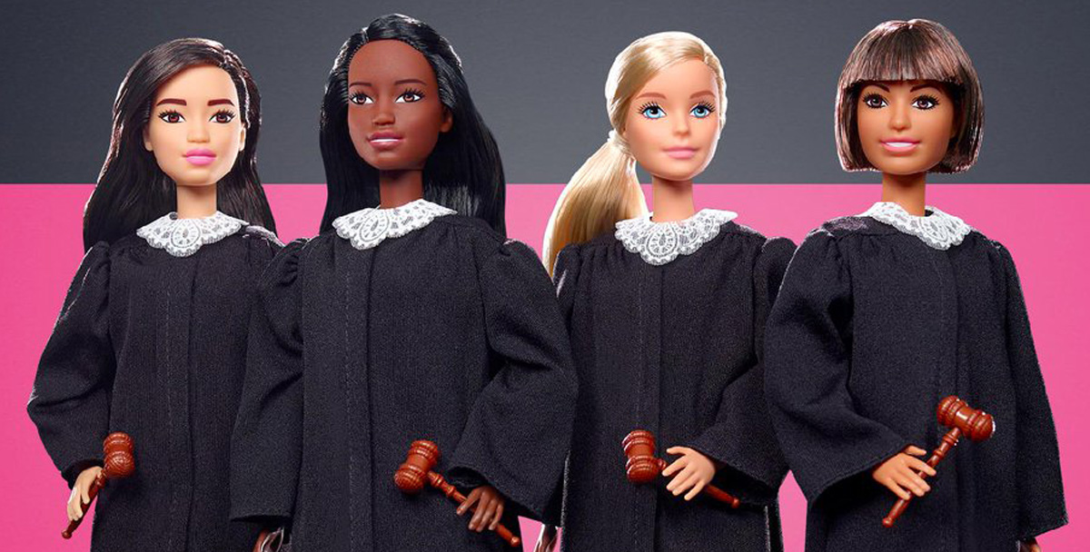 Кукла Барби стала судьей