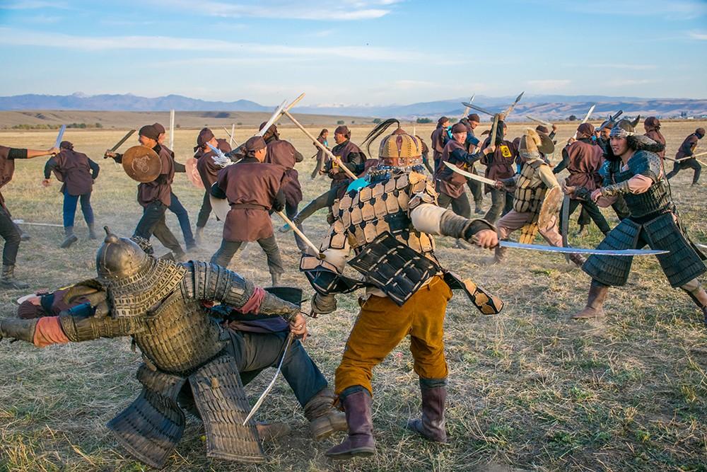 казахско-джунгарская битва