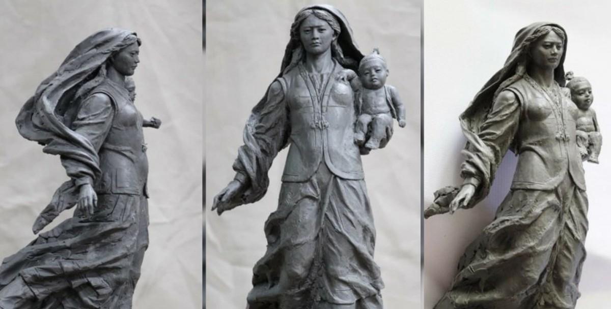 «Жер Ана»: В Нур-Султане предложили установить самую высокую в мире статую женщины