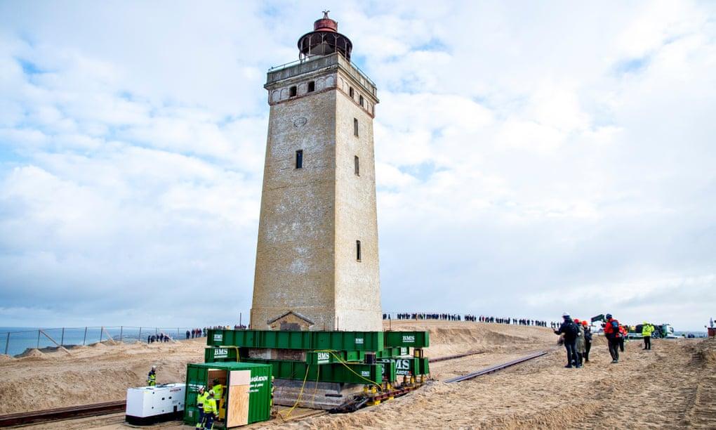 старый маяк в Дании