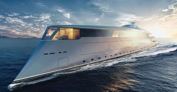 Уникальная эко-яхта представлена на выставке MYS-2019 в Монако