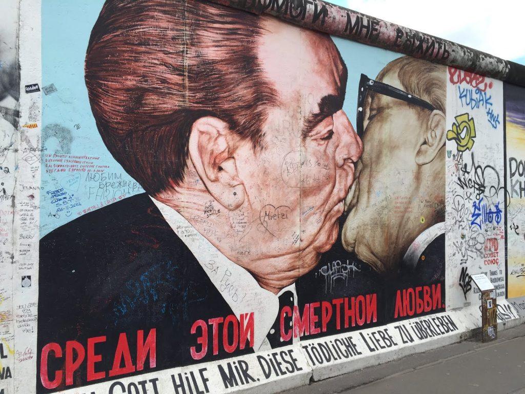 Берлинская стена Брежнев