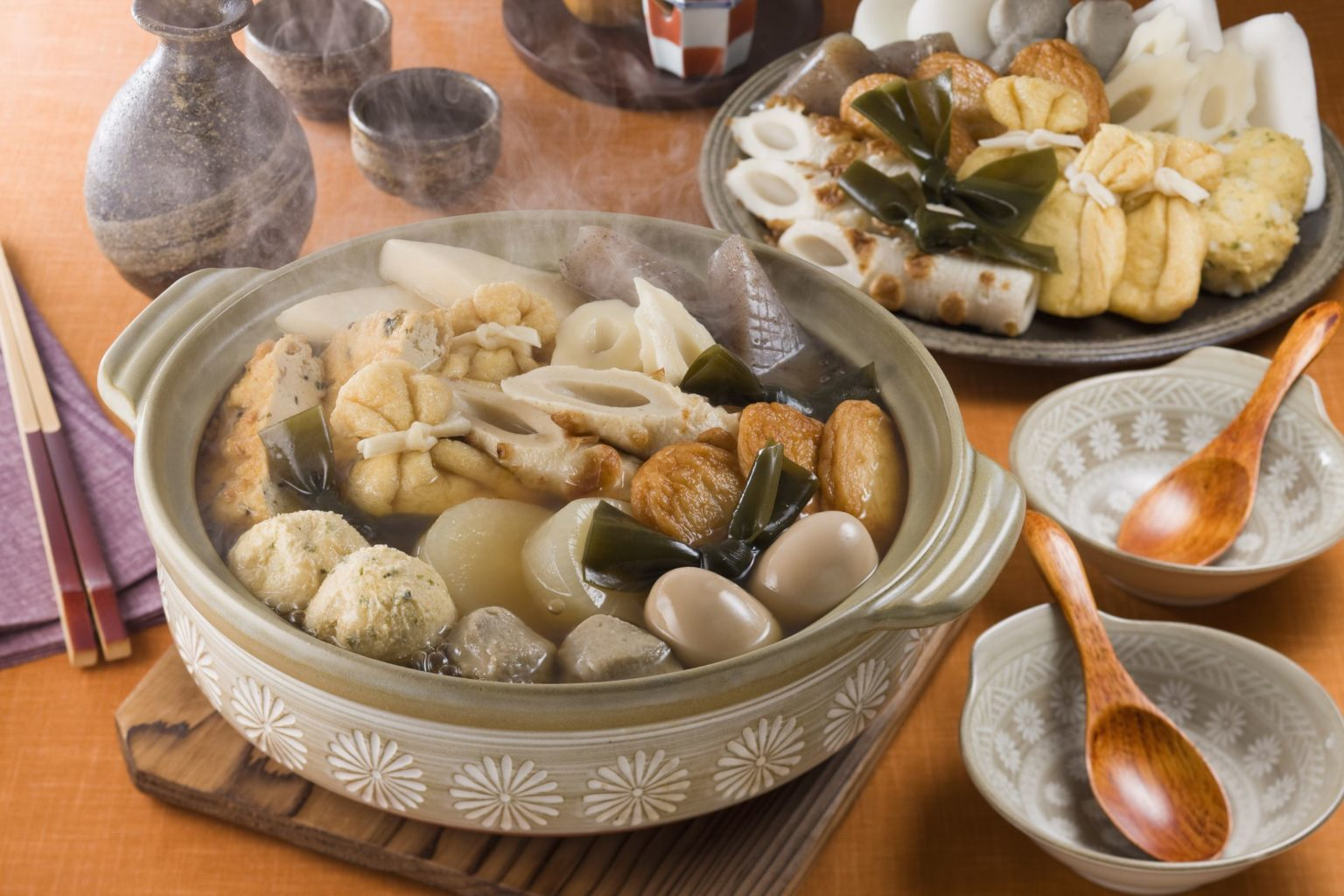 В японской закусочной подают суп, который начали варить в 1945 году