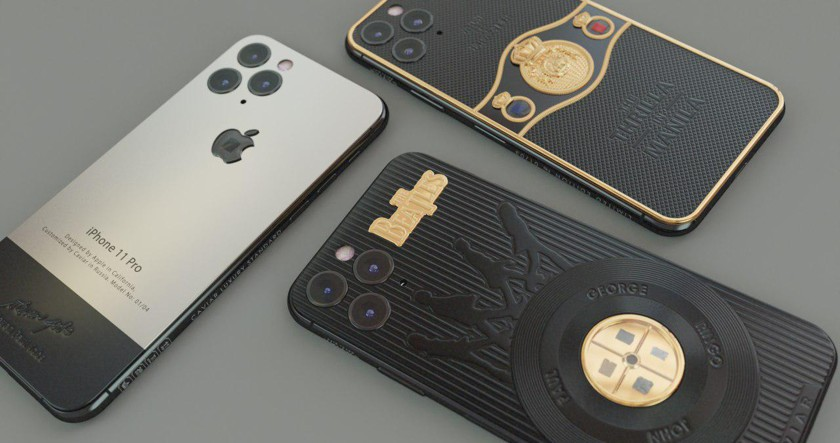 Создан iPhone 11 Pro с элементами вещей Стива Джобса, Мохаммеда Али и битлов