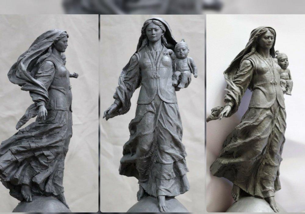 Жер Ана самая высокая женская статуя в мире