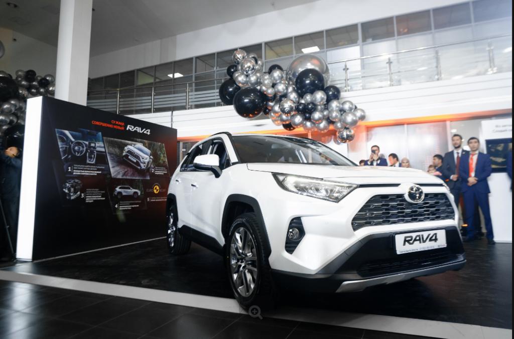 Первый официальный дилер Toyota – «Тойота Центр Алматы» отпраздновал 25-летие