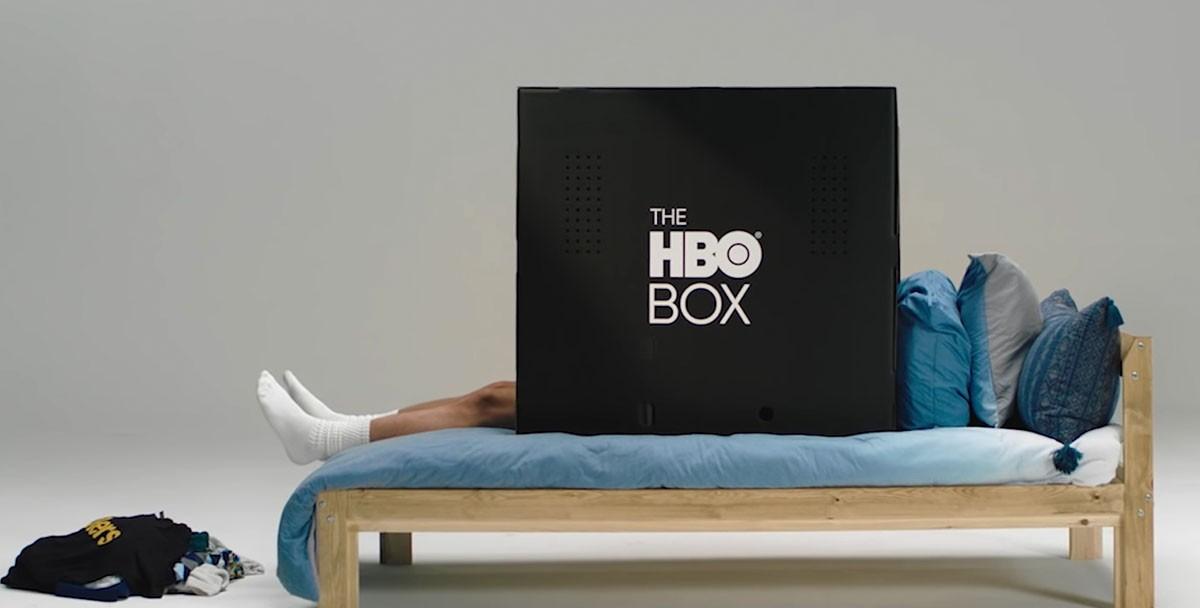 HBO выпустил черную коробку, в которой можно уединиться и смотреть сериалы