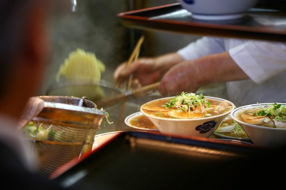 Японский искусственный интеллект определяет места с самой вкусной лапшой
