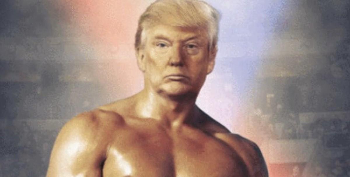 Трамп представил себя Рокки