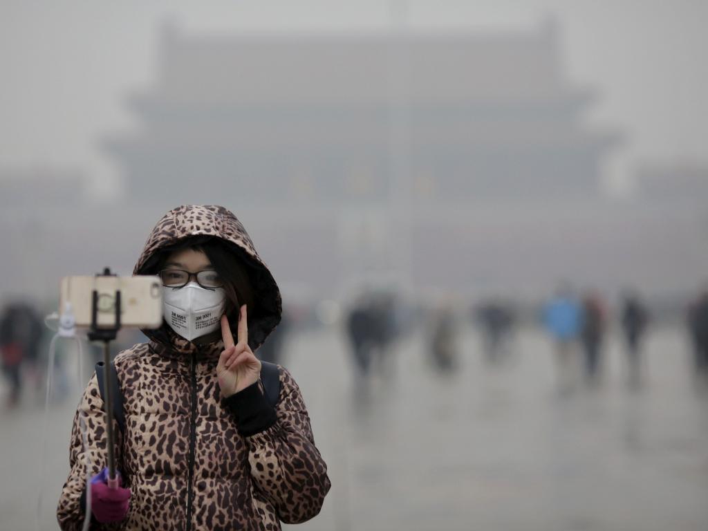 воздух в Китае