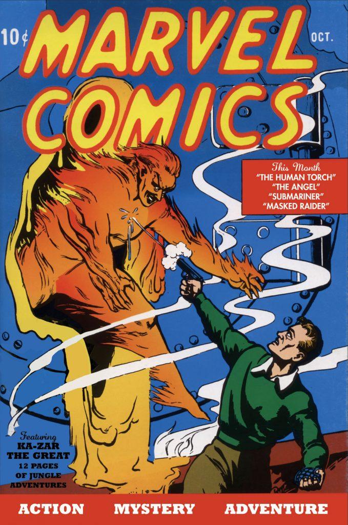 Первый раритетный номер комиксов Marvel продали в США за 1,26 млн долларов