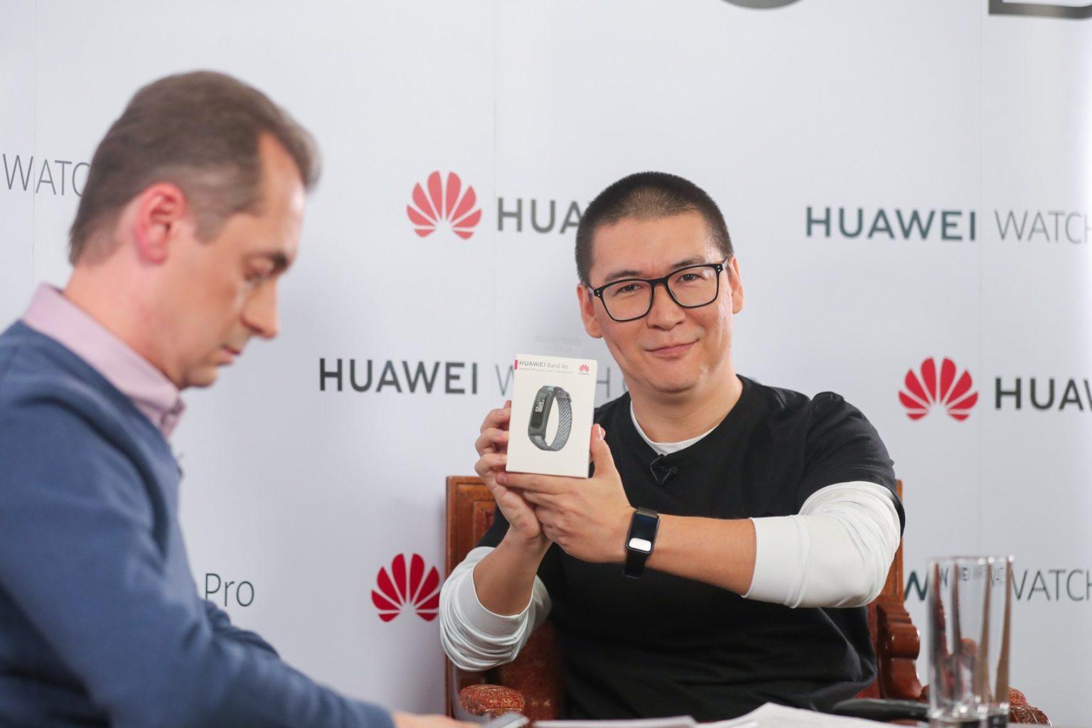 Могут ли часы помочь в лечении коронавируса? Huawei доказывает - да!