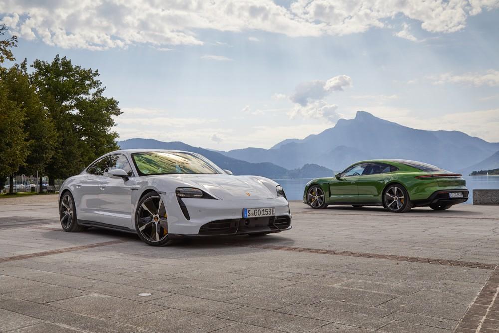 Porsche Taycan стал автомобилем года в Германии