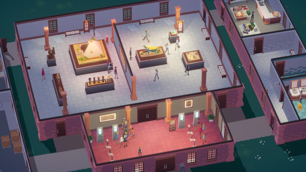 кадр игры Mondo Museum