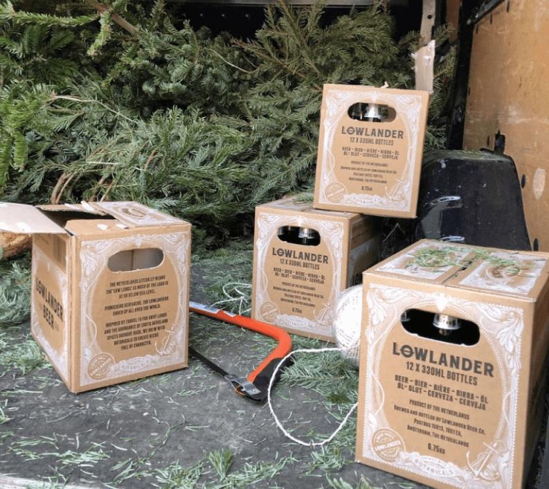 В Амстердаме варят пиво из хвои и выброшенных рождественских елок