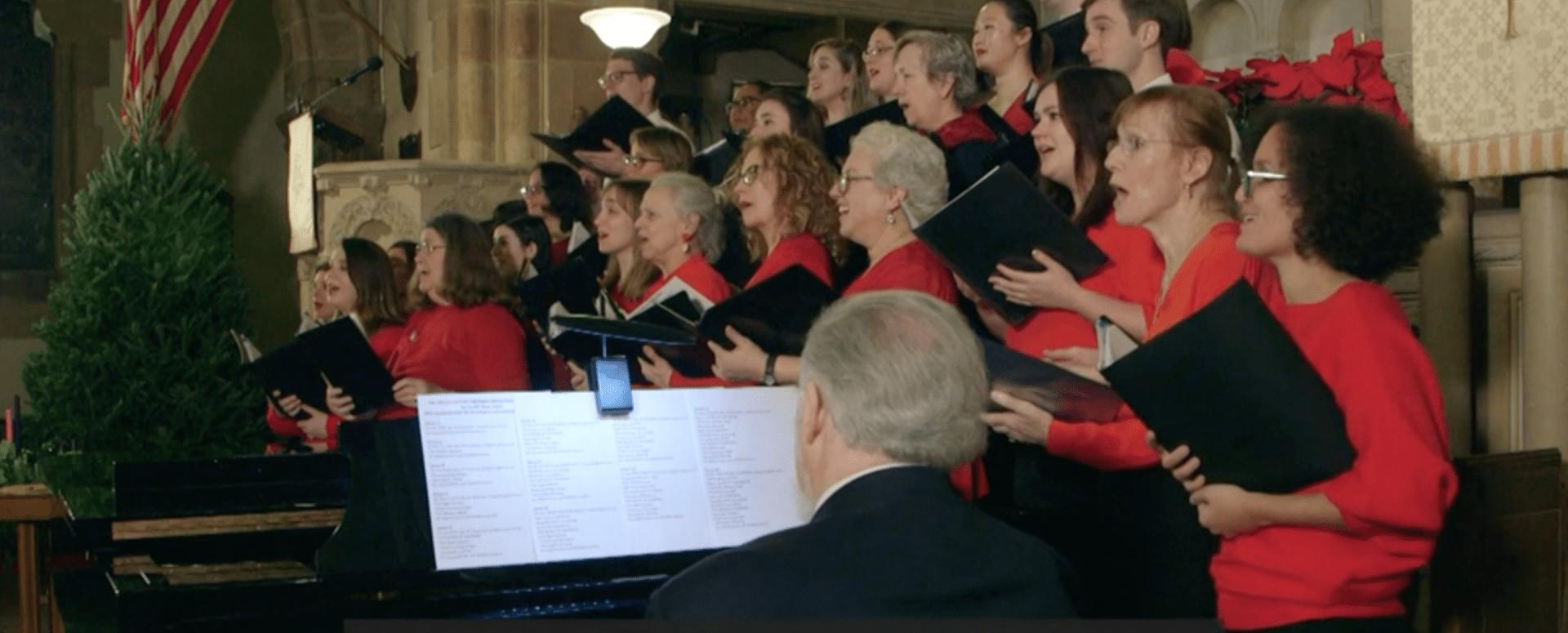 Рождественский хор спел об импичменте Дональда Трампа