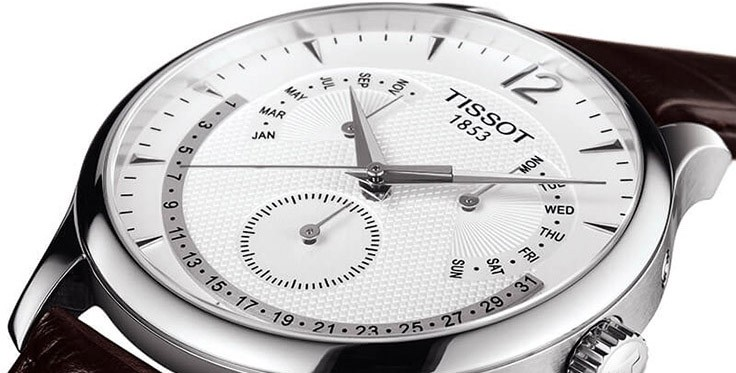 Tissot Tradition Perpetual Calendar T063.637.16.037.00 – часы декабря