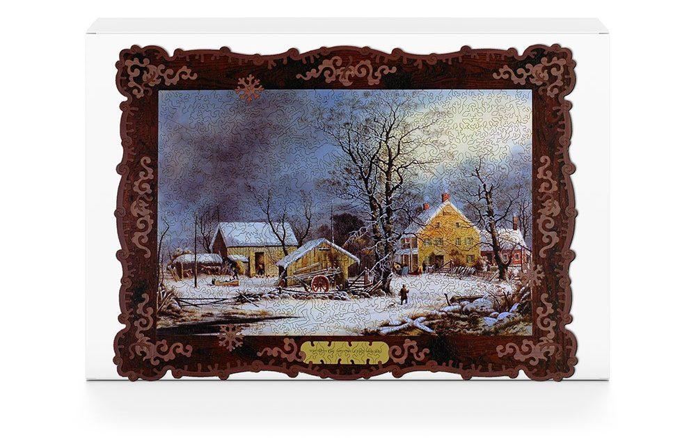 Liberty Puzzles подарки зимних месяцев