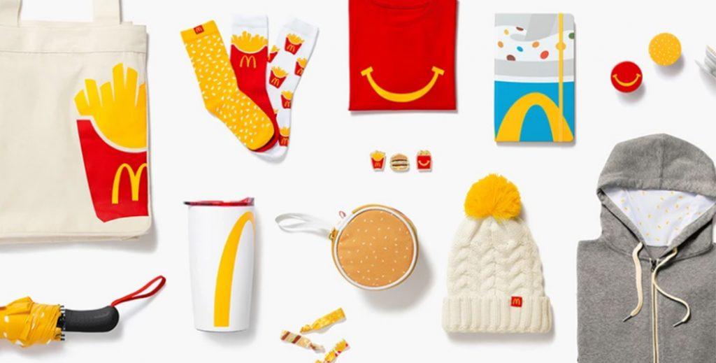 McDonald's выпустил коллекцию одежды, посвященную узнаваемым блюдам