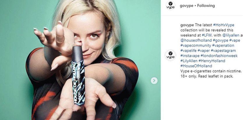 Instagram начнет удалять посты с рекламой вейпов и табака