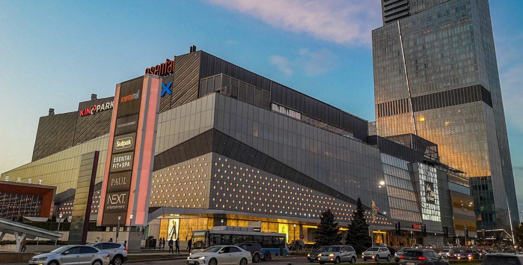 Есентай молл ТРЦ Алматы