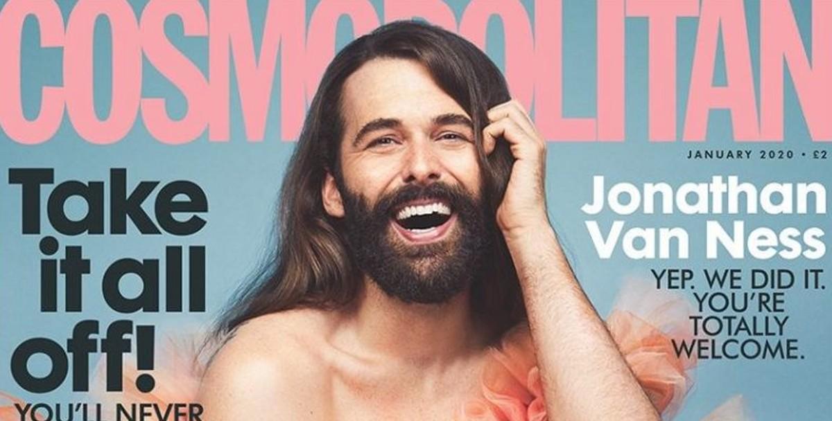 На обложке британского Cosmopolitan впервые за 35 лет появится не женщина