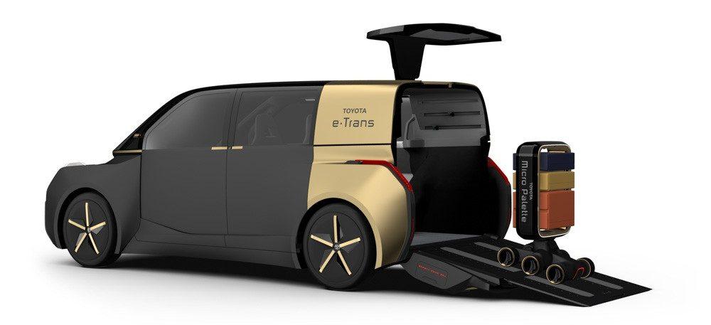 Toyota e-Trans будущее автомобилестроения