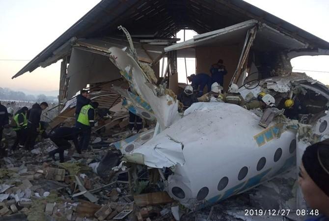 Авиакатастрофа Алматы: стали известны имена первых погибших