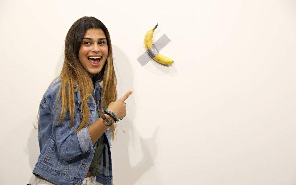 Банан за 0 000, оказавшийся инсталляцией, был съеден