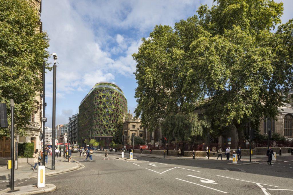 """""""Зеленое"""" здание появится в Лондоне"""