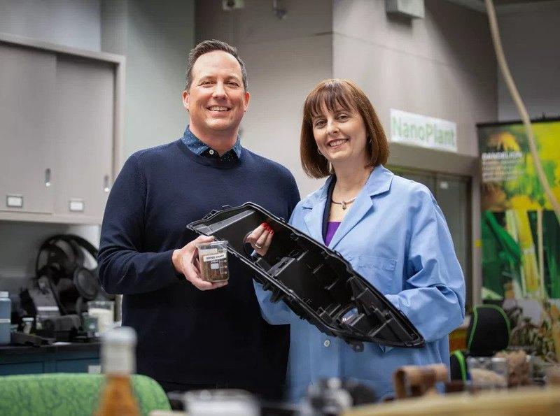 Ford и McDonald's пластик из кофейных отходов